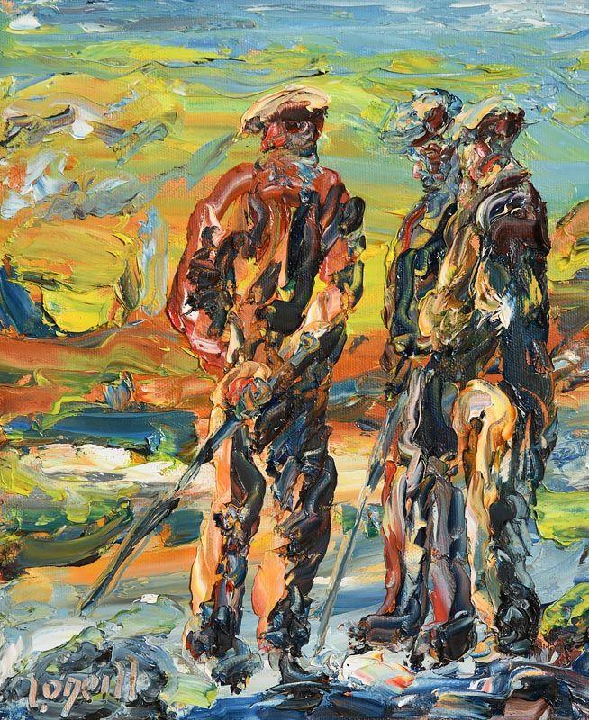 Liam O'Neill, Comhra II at Morgan O'Driscoll Art Auctions