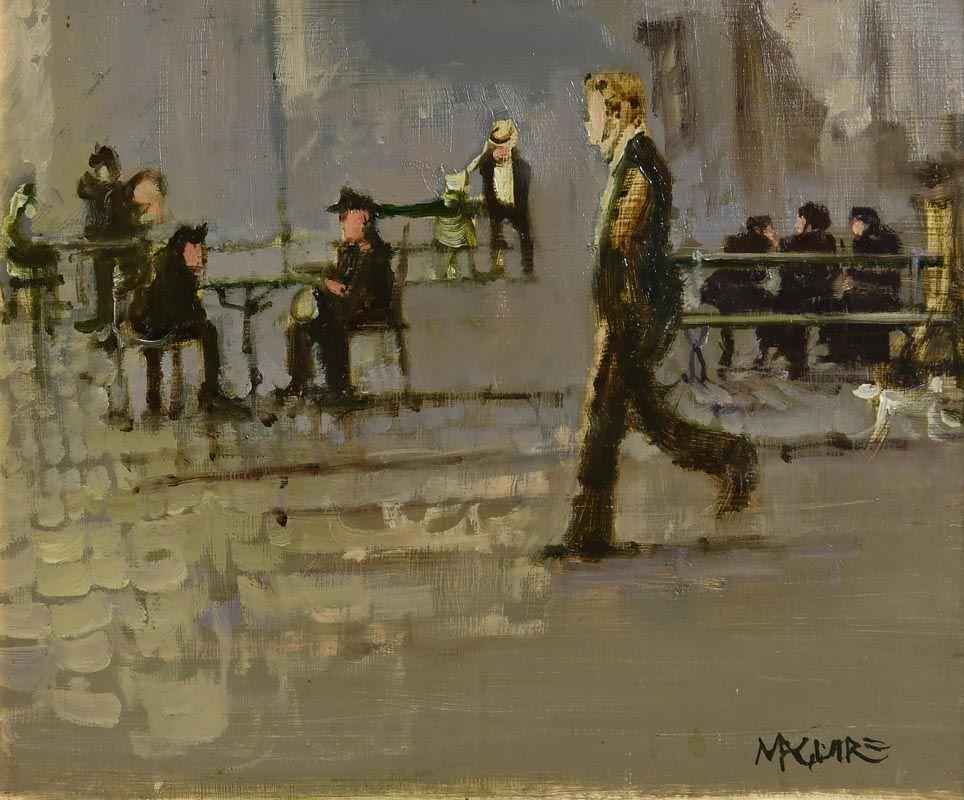Cecil Maguire, Paris, France at Morgan O'Driscoll Art Auctions