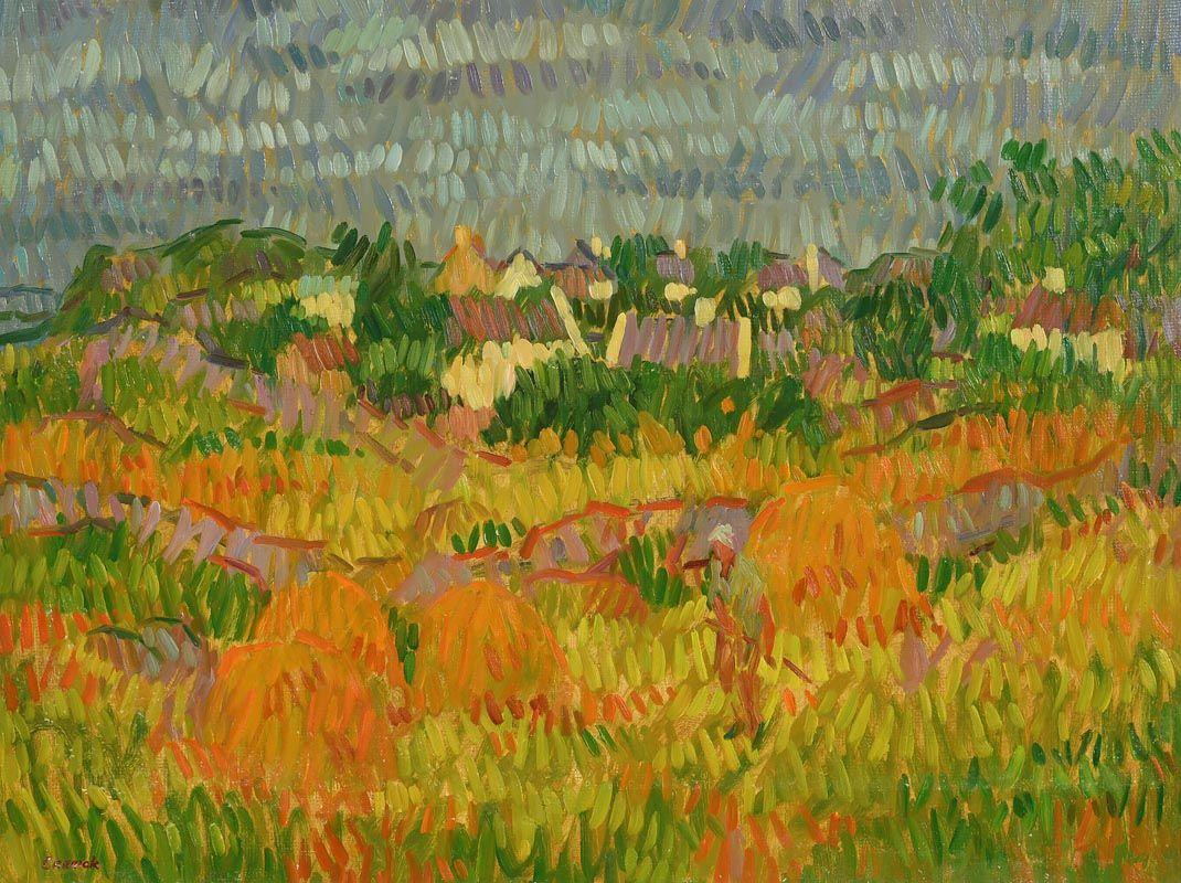 Desmond Carrick, Harvest Time at Morgan O'Driscoll Art Auctions