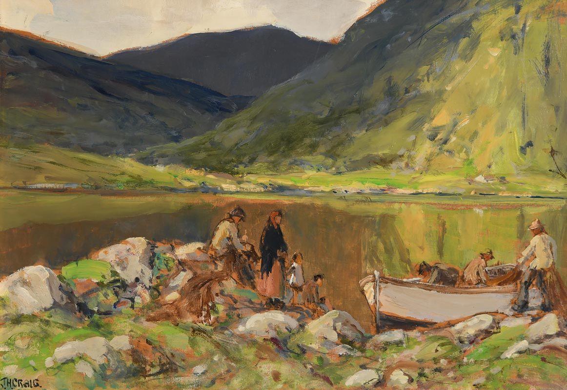 James Humbert Craig, Leenane, Connemara at Morgan O'Driscoll Art Auctions