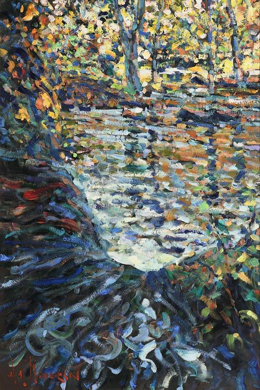 Arthur K. Maderson, Autumnal Evening, Glenshelane at Morgan O'Driscoll Art Auctions