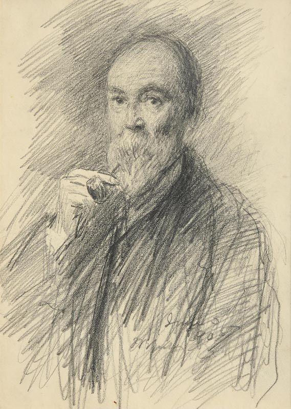 John Butler Yeats, Self Portrait (1905) at Morgan O'Driscoll Art Auctions