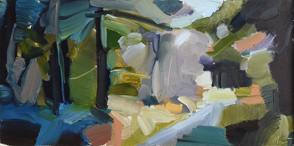 Marie Theresa Keown, Corner of Lake at Morgan O'Driscoll Art Auctions
