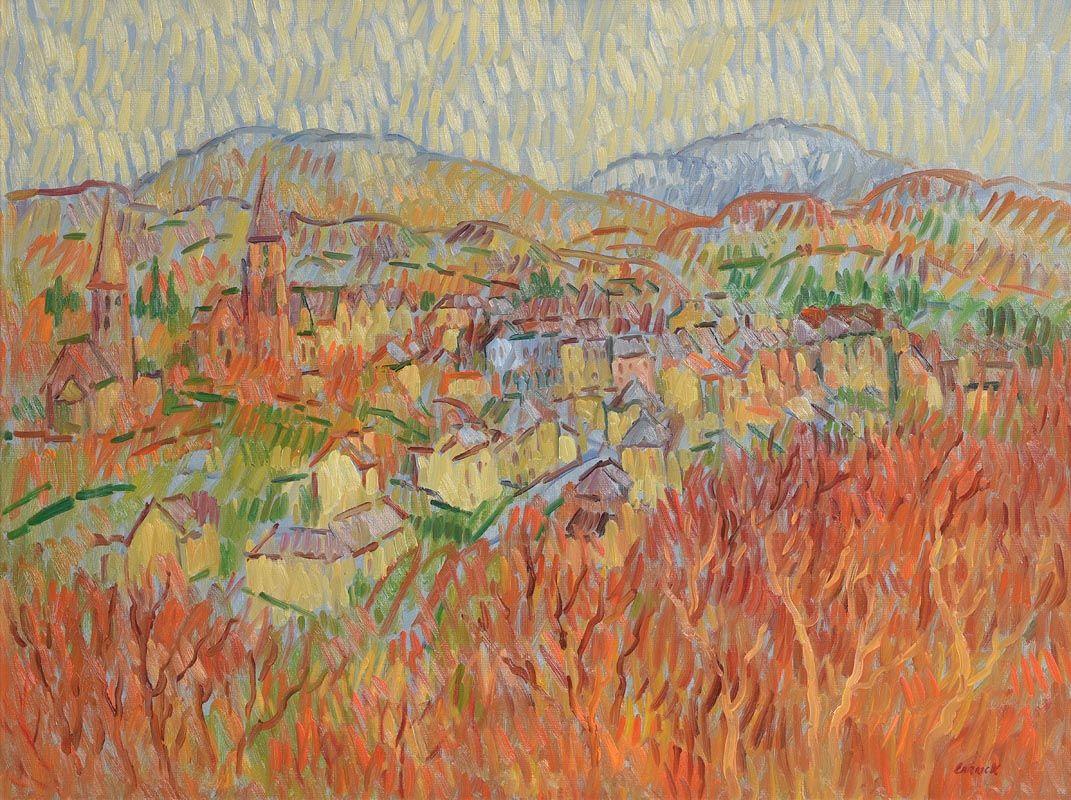 Desmond Carrick, Village of Clifton at Morgan O'Driscoll Art Auctions
