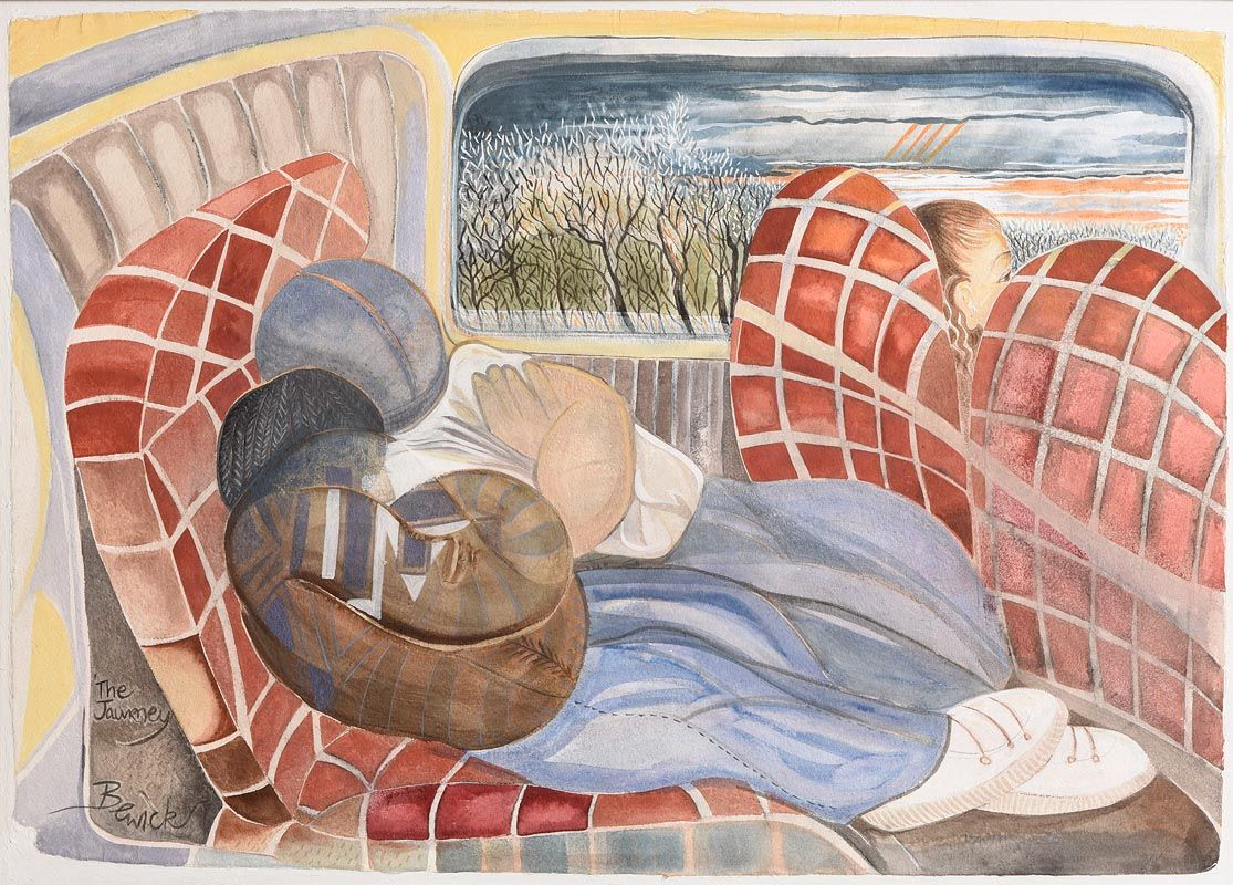 Pauline Bewick, The Journey at Morgan O'Driscoll Art Auctions