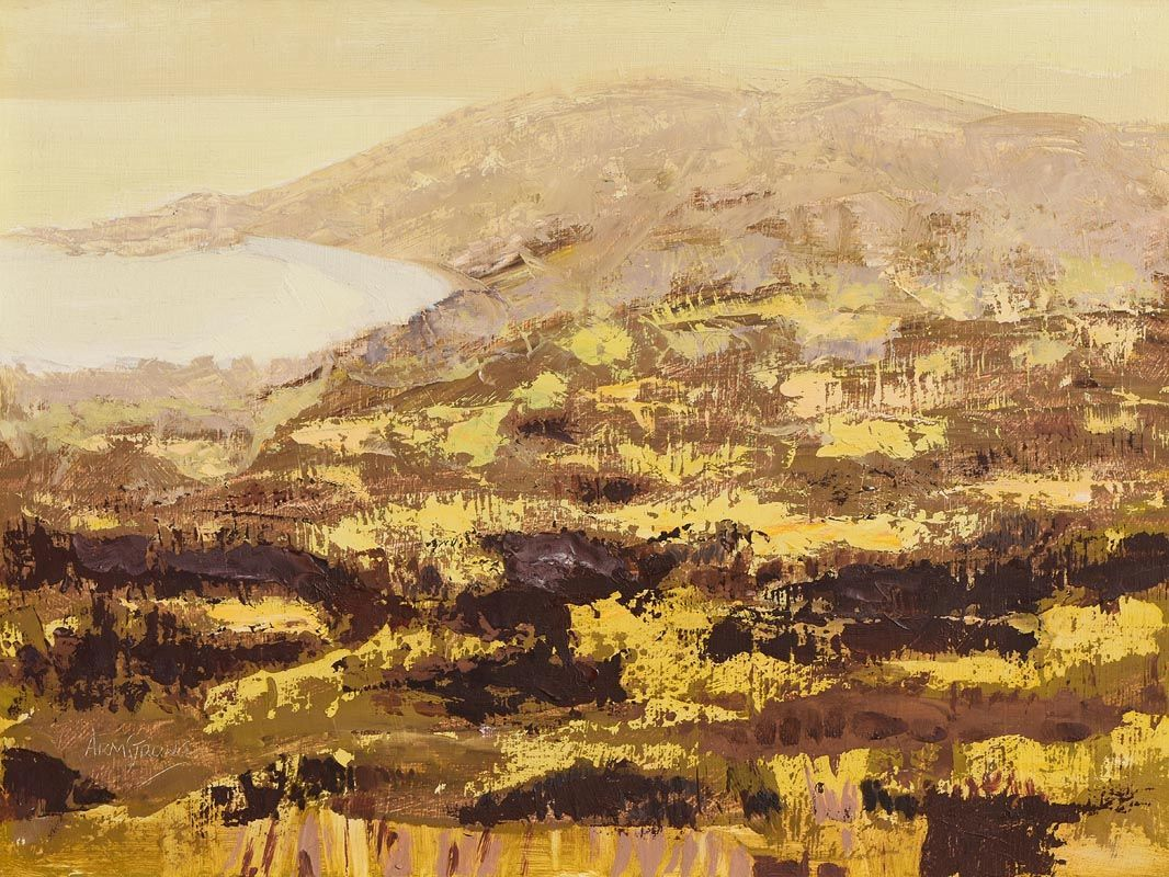 Arthur Armstrong, Landscape with Gorse at Morgan O'Driscoll Art Auctions