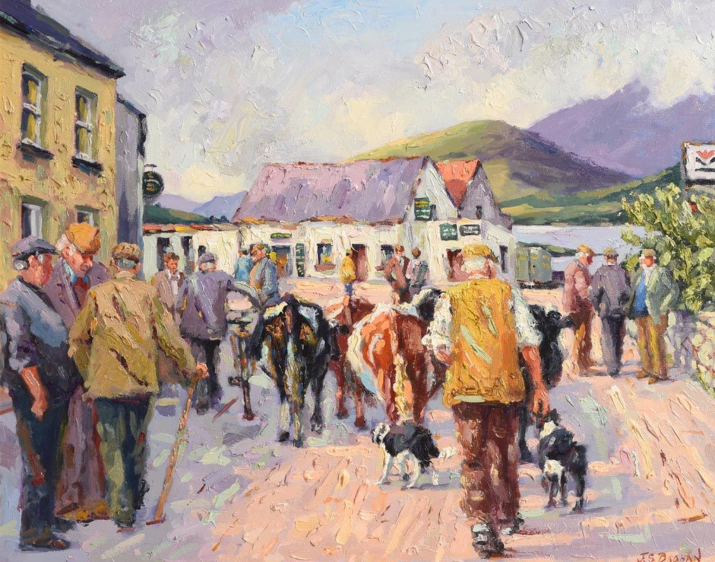 James S. Brohan, Leenane, Connemara at Morgan O'Driscoll Art Auctions