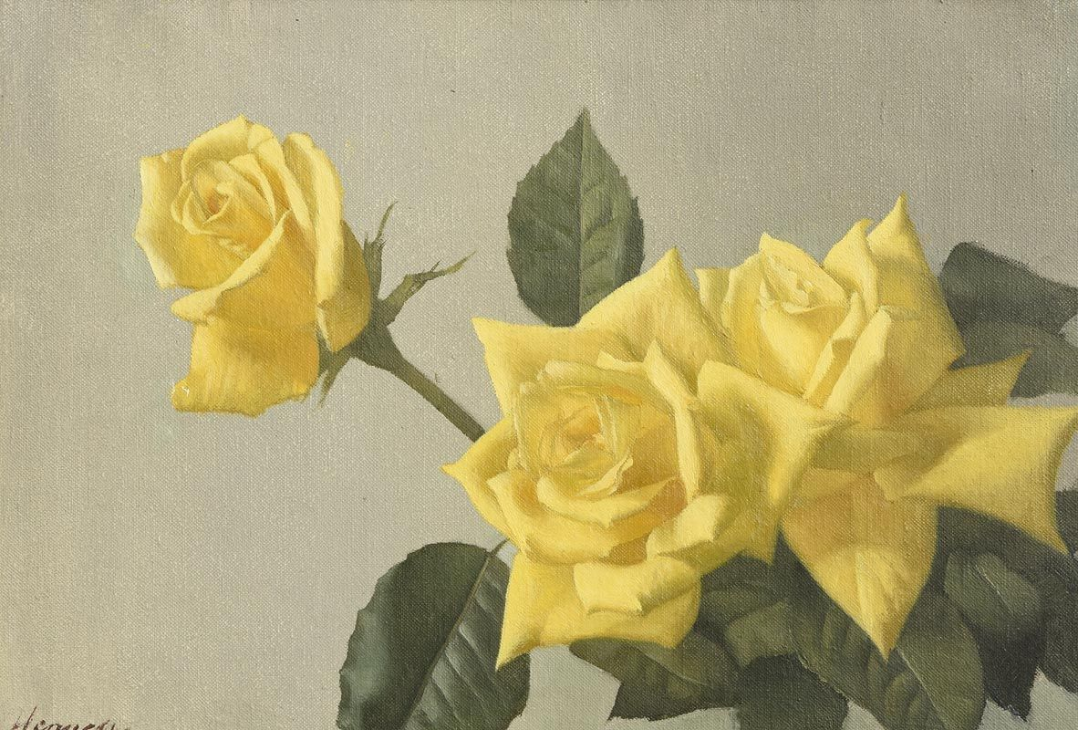 Patrick Hennessy, The Yellow Roses at Morgan O'Driscoll Art Auctions