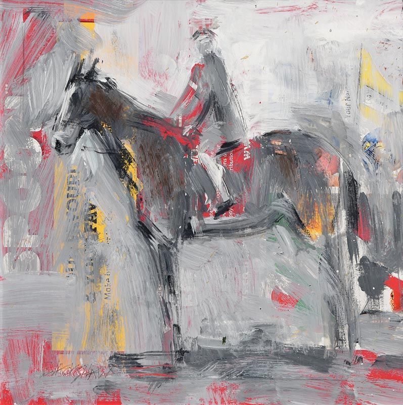 Basil Blackshaw, The Horseman at Morgan O'Driscoll Art Auctions
