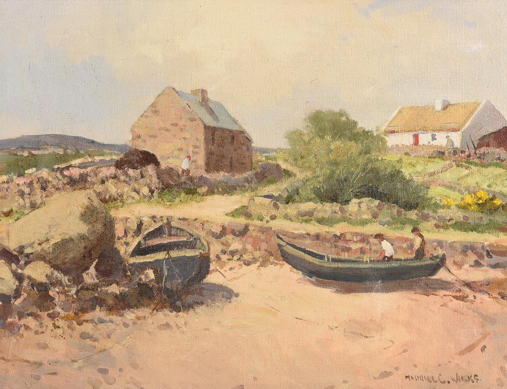 Maurice Canning Wilks, Ervelagh, Connemara at Morgan O'Driscoll Art Auctions