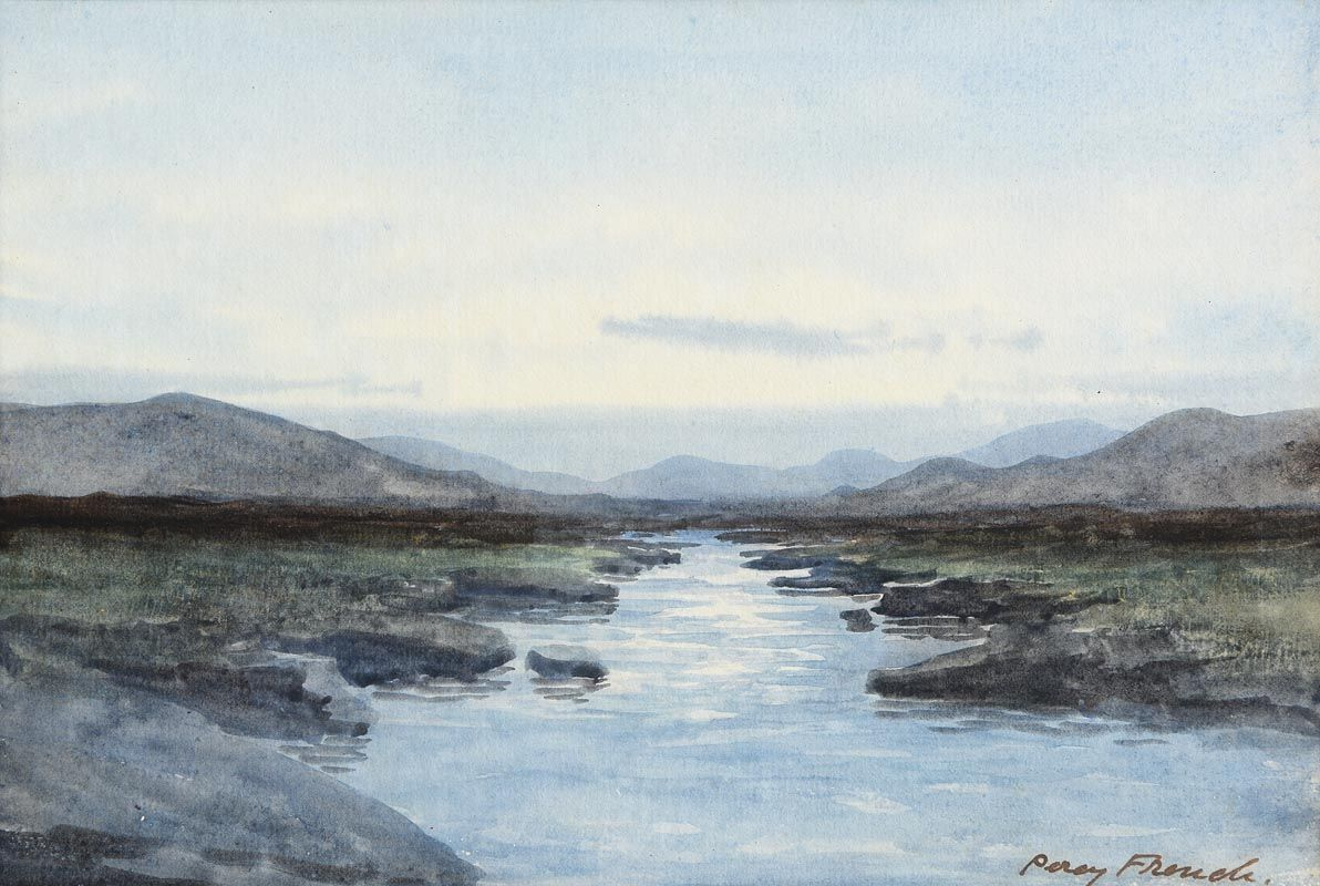 Percy French, West of Ireland Landscape at Morgan O'Driscoll Art Auctions
