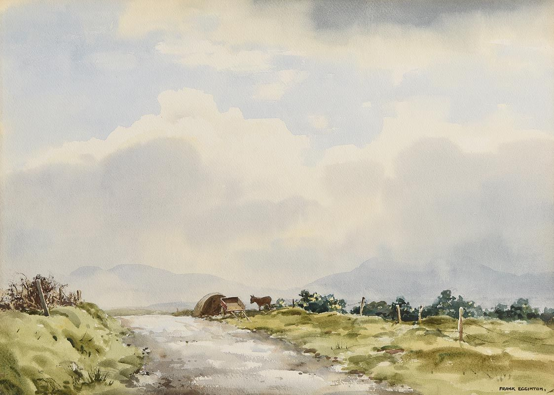 Frank Egginton, Tinkers, Co. Donegal at Morgan O'Driscoll Art Auctions