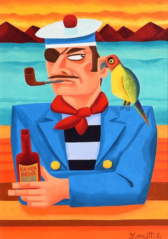 Graham Knuttel, Seven Seas at Morgan O'Driscoll Art Auctions