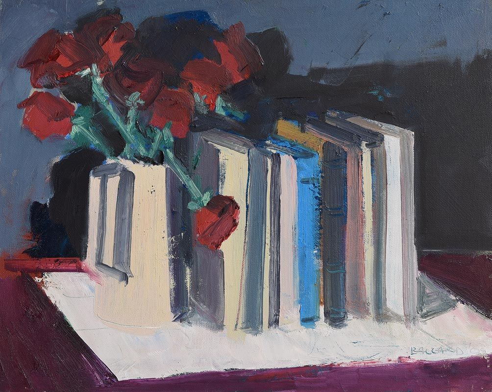 Brian Ballard, Roses & Books (2009) at Morgan O'Driscoll Art Auctions