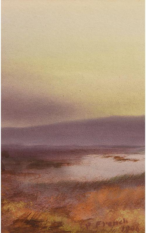 Percy French, Connemara (1906) at Morgan O'Driscoll Art Auctions