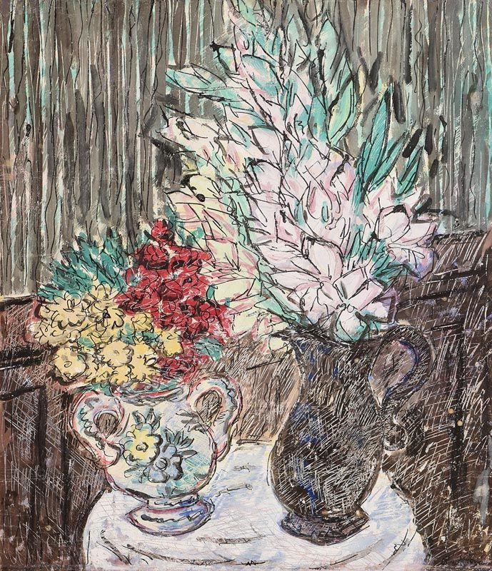 Basil Ivan Rakoczi, Fleurs Au Pension at Morgan O'Driscoll Art Auctions