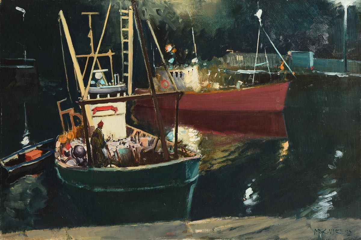 Back for the Night (1992) at Morgan O'Driscoll Art Auctions