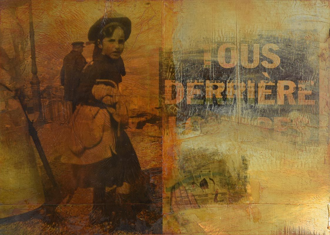 Hughie O'Donoghue, Tous Derriere Londres (2005/06) at Morgan O'Driscoll Art Auctions