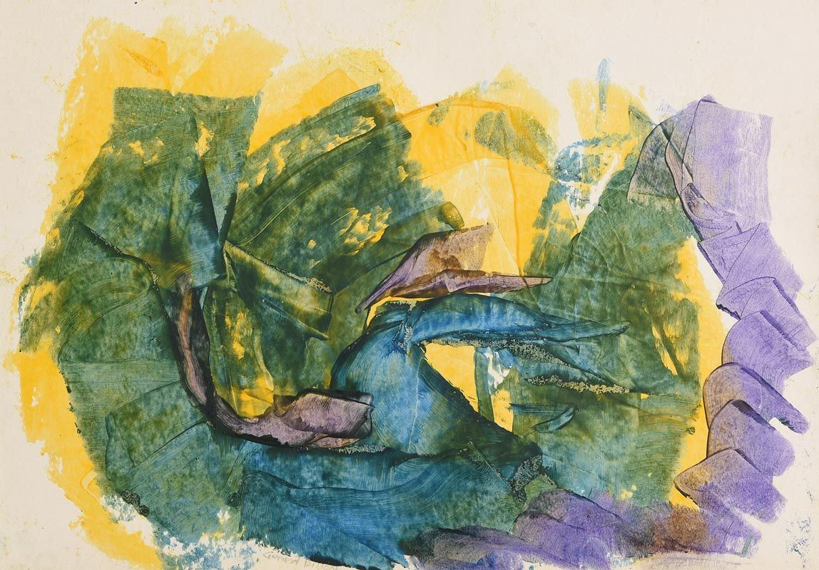 Gerard Dillon, Abstract Composition at Morgan O'Driscoll Art Auctions