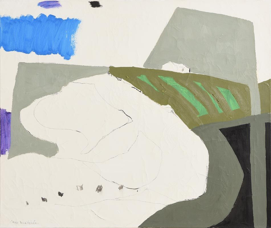 Padraig MacMiadhachain, Haysoms Quarry at Morgan O'Driscoll Art Auctions