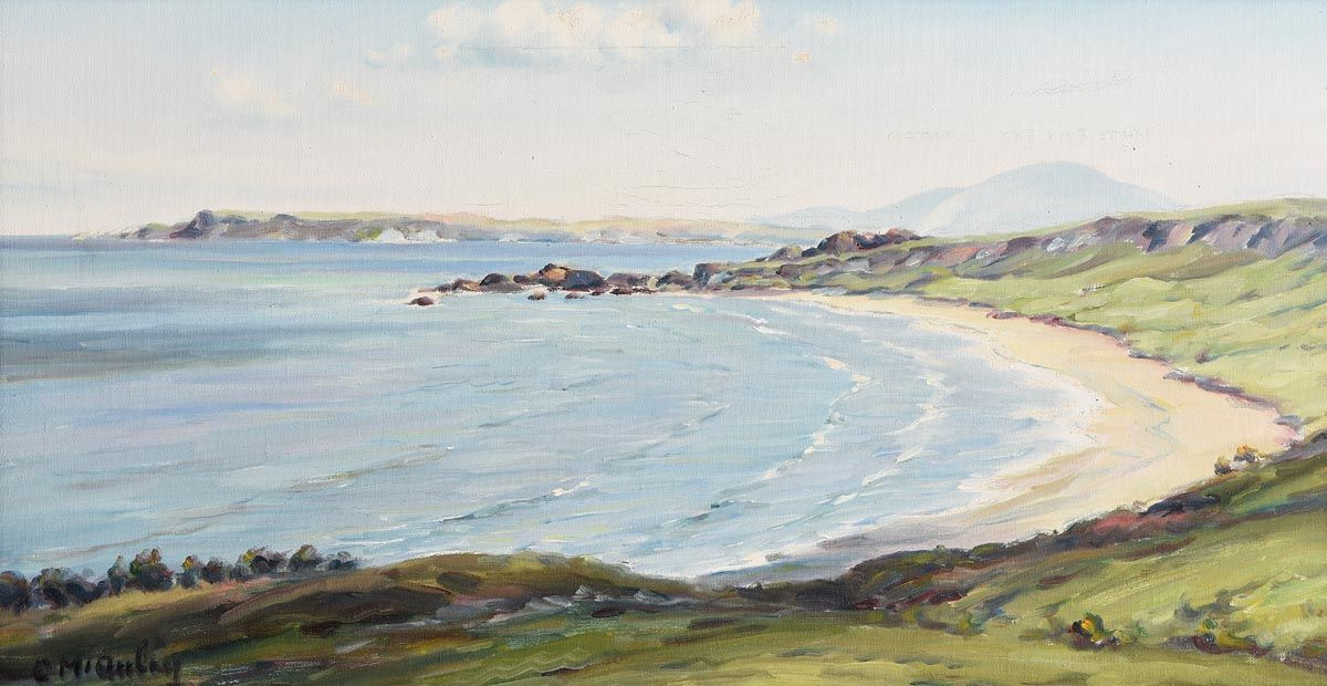 Charles J. McAuley, Whitepark Bay, Co. Antrim at Morgan O'Driscoll Art Auctions