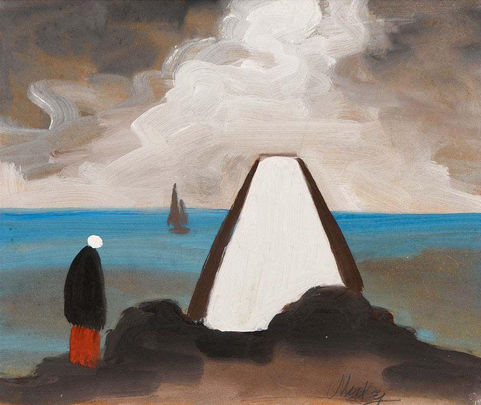 Markey Robinson, Shawlie at the Shoreside Cottage at Morgan O'Driscoll Art Auctions