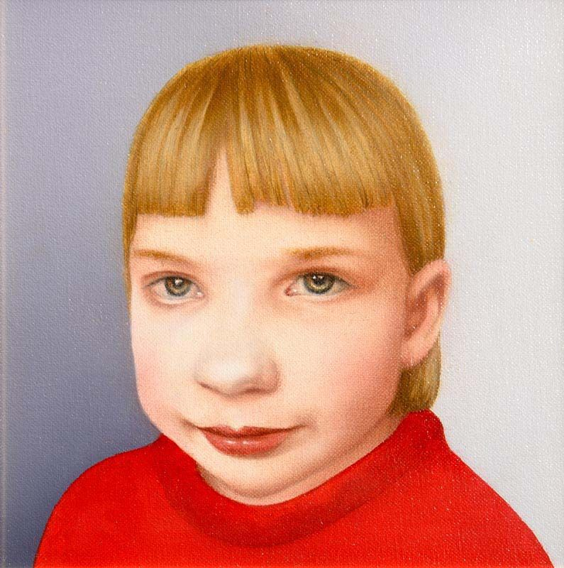 Robert Ballagh, Girl from Belarus (2010) at Morgan O'Driscoll Art Auctions