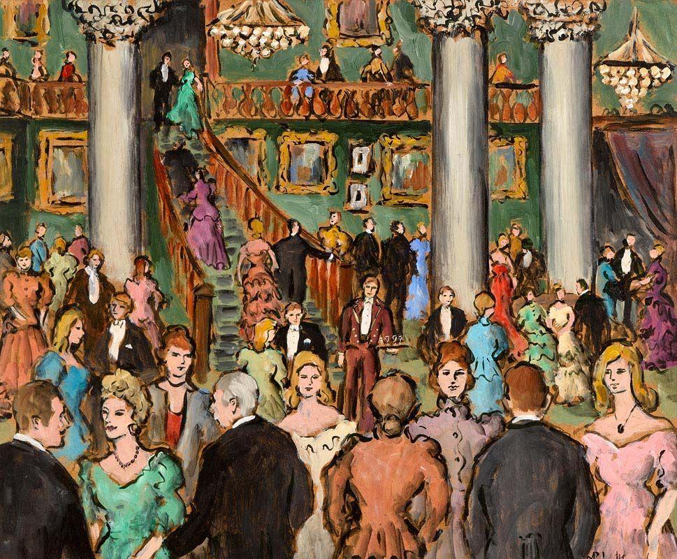 Gladys MacCabe, Night at the Opera at Morgan O'Driscoll Art Auctions