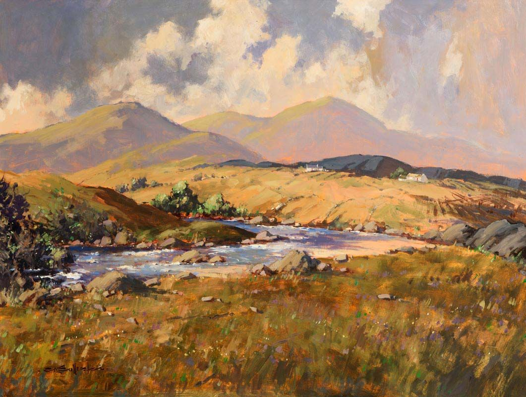 George K. Gillespie, Shimna River, Kingdom of Mourne at Morgan O'Driscoll Art Auctions