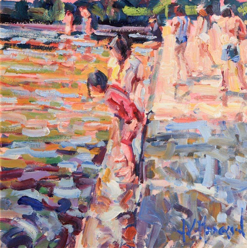 Arthur K. Maderson, Evening, Lismore River Pool at Morgan O'Driscoll Art Auctions