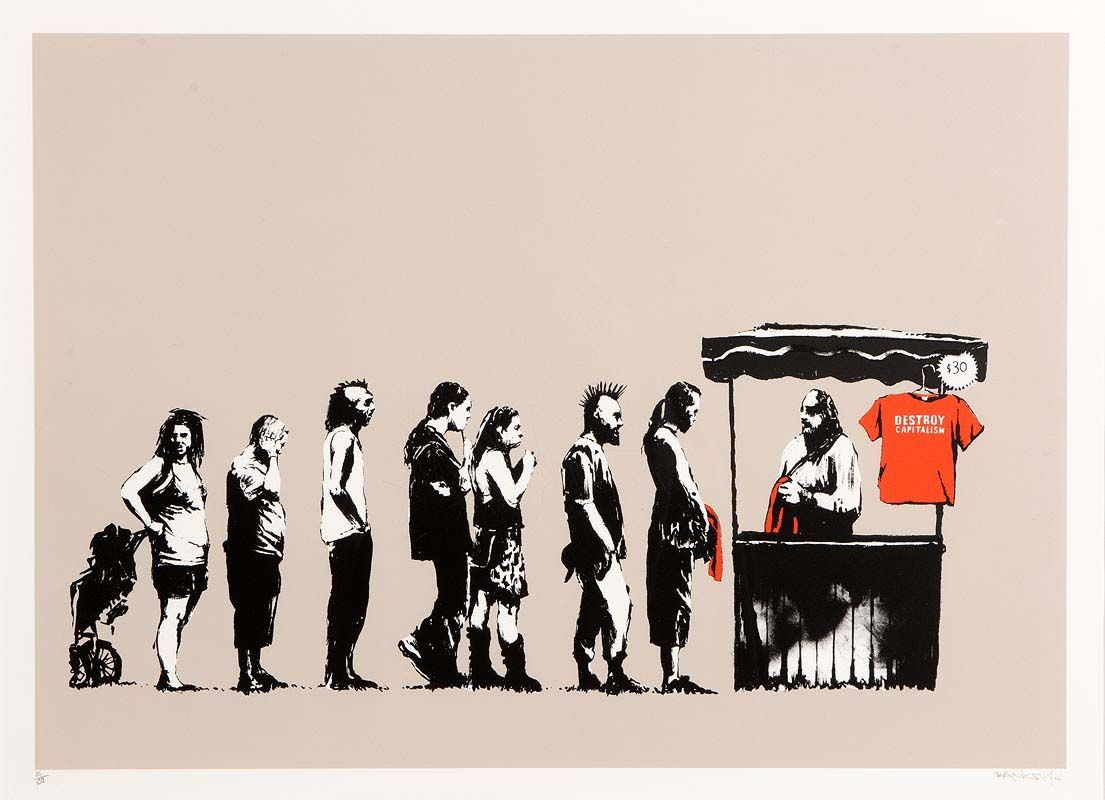Banksy, Festival (2006) at Morgan O'Driscoll Art Auctions