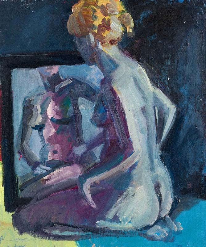 Brian Ballard, Model With Red Hair (2015) at Morgan O'Driscoll Art Auctions