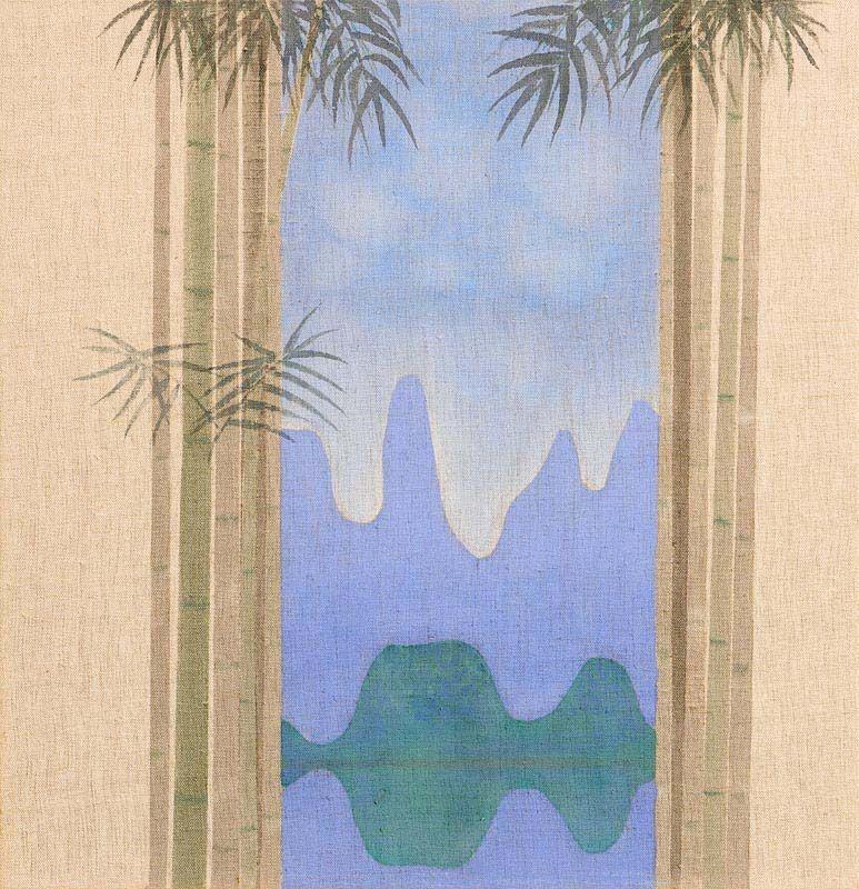 Patrick Scott, Guelin - Bamboo at Morgan O'Driscoll Art Auctions