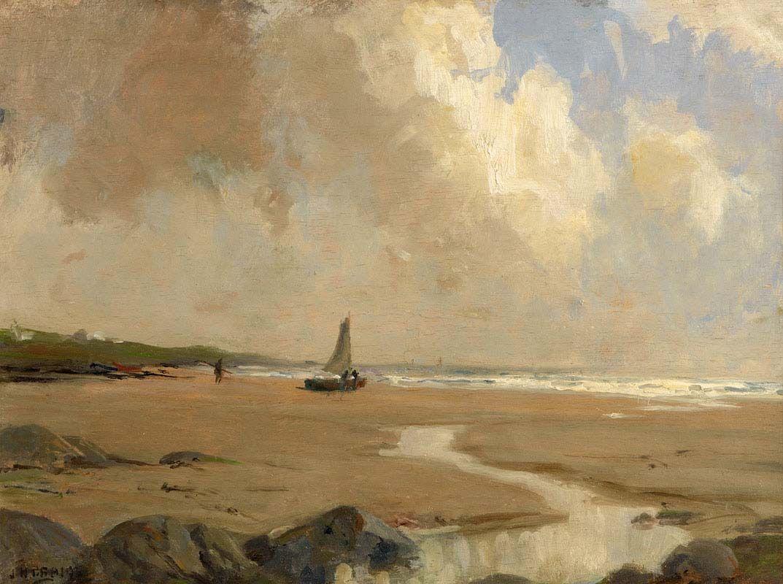 James Humbert Craig, Preparing the Boat at Morgan O'Driscoll Art Auctions