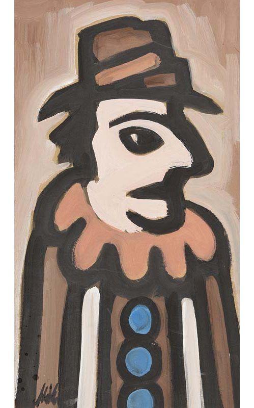 Markey Robinson, My Gangster Clown at Morgan O'Driscoll Art Auctions