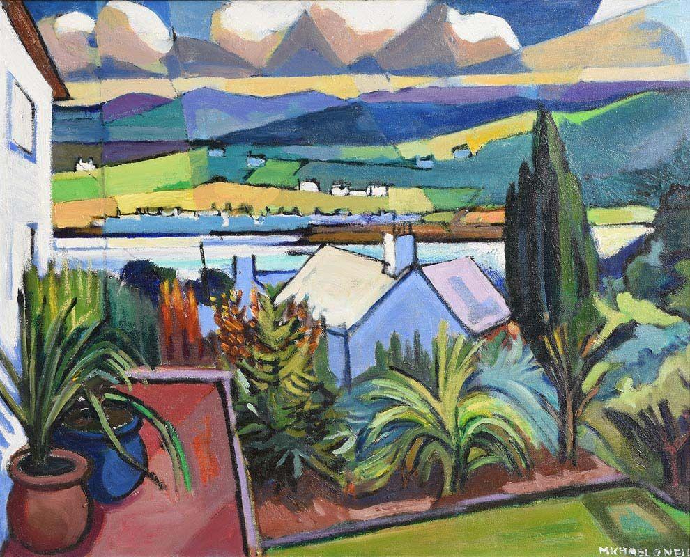 Michael O'Neill, Donegal Landscape at Morgan O'Driscoll Art Auctions