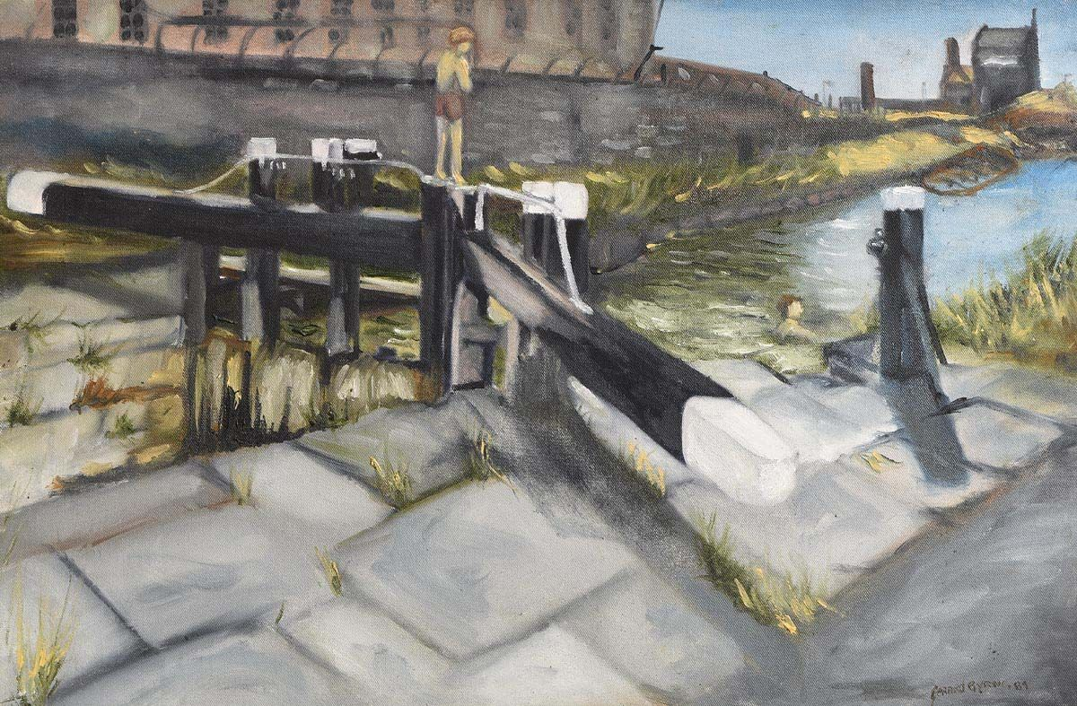 Gerard Byrne, Swimming, Grand Canal at Morgan O'Driscoll Art Auctions