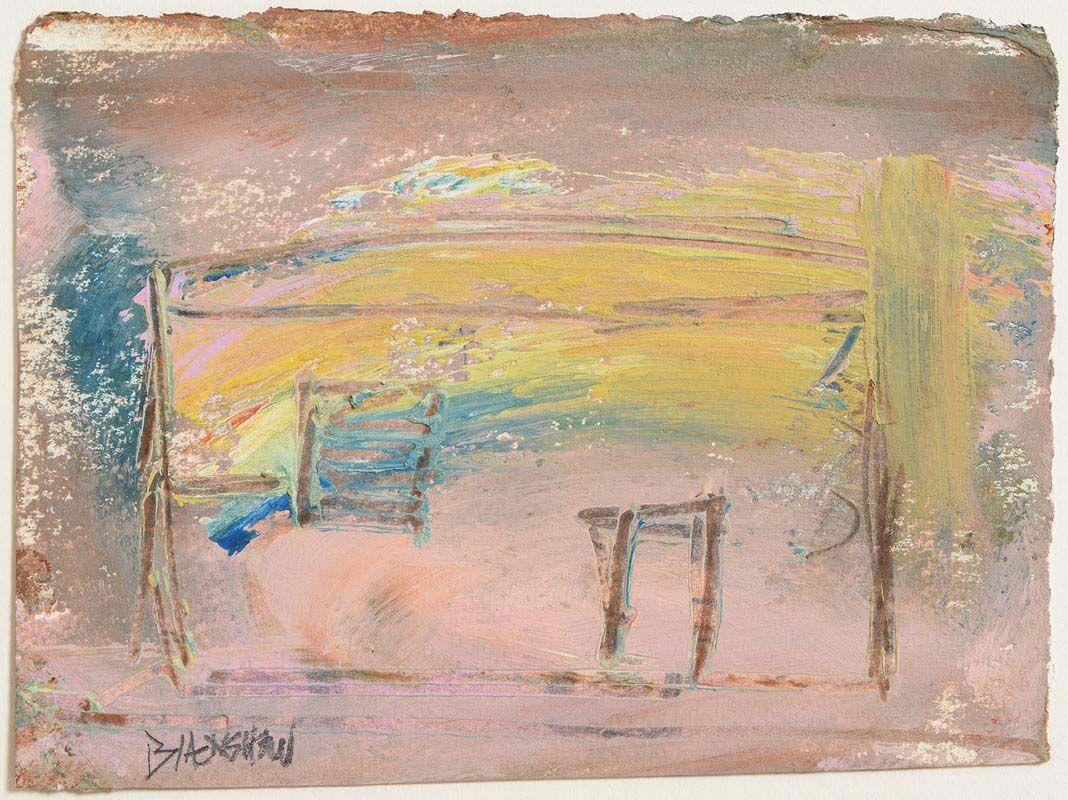 Basil Blackshaw, House at Morgan O'Driscoll Art Auctions