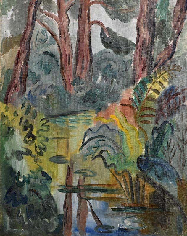 Norah McGuinness, The Golden Pool at Morgan O'Driscoll Art Auctions