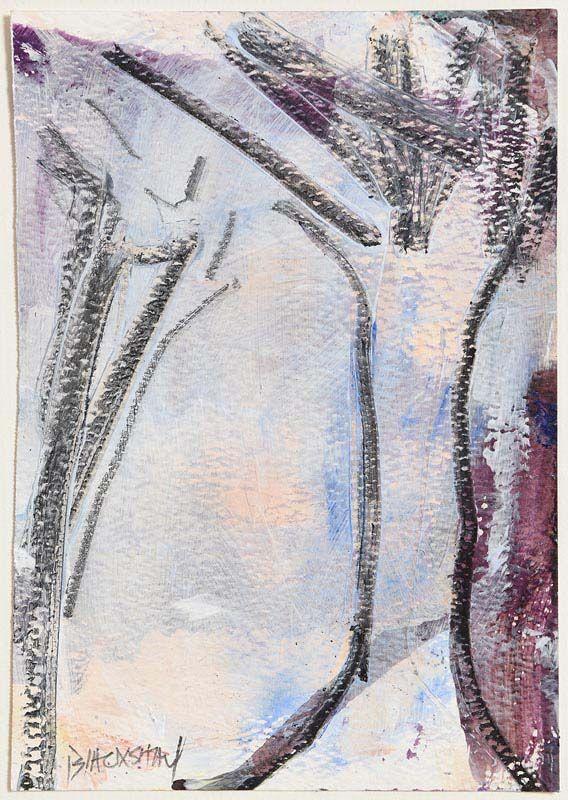 Basil Blackshaw, Trees in Winter at Morgan O'Driscoll Art Auctions