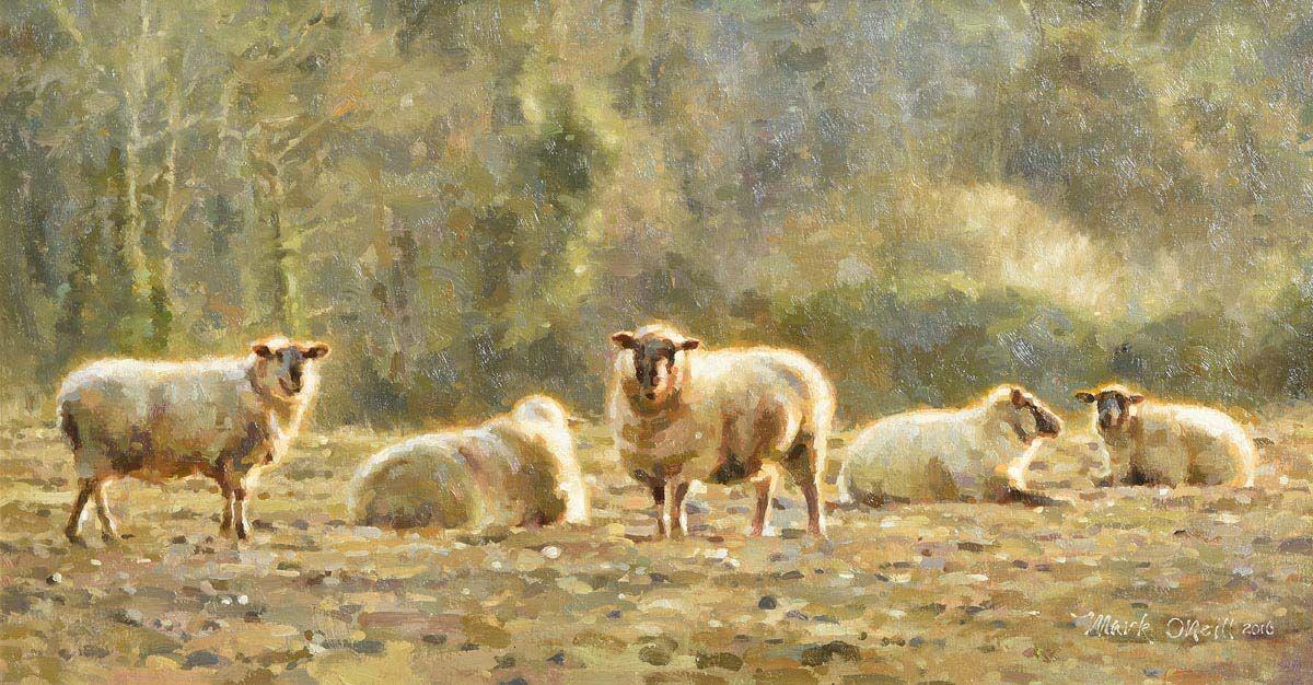 Mark O'Neill, Craan, Winter Light at Morgan O'Driscoll Art Auctions