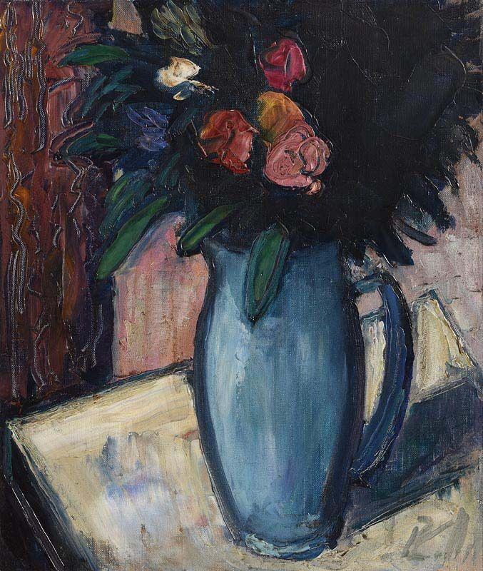 Peter Collis, Blue Jug at Morgan O'Driscoll Art Auctions