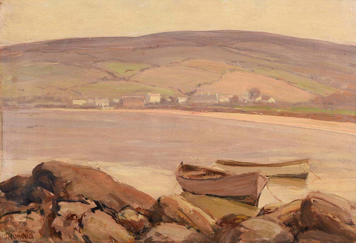 James Humbert Craig, Cushendun at Morgan O'Driscoll Art Auctions