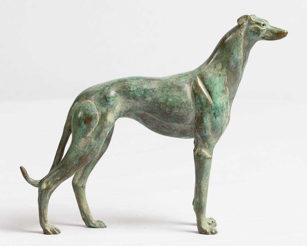 Martin Hayword, Greyhound at Morgan O'Driscoll Art Auctions