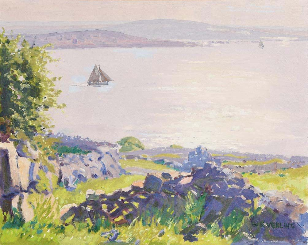 Walter Verling, Rossaveal, Connemara at Morgan O'Driscoll Art Auctions