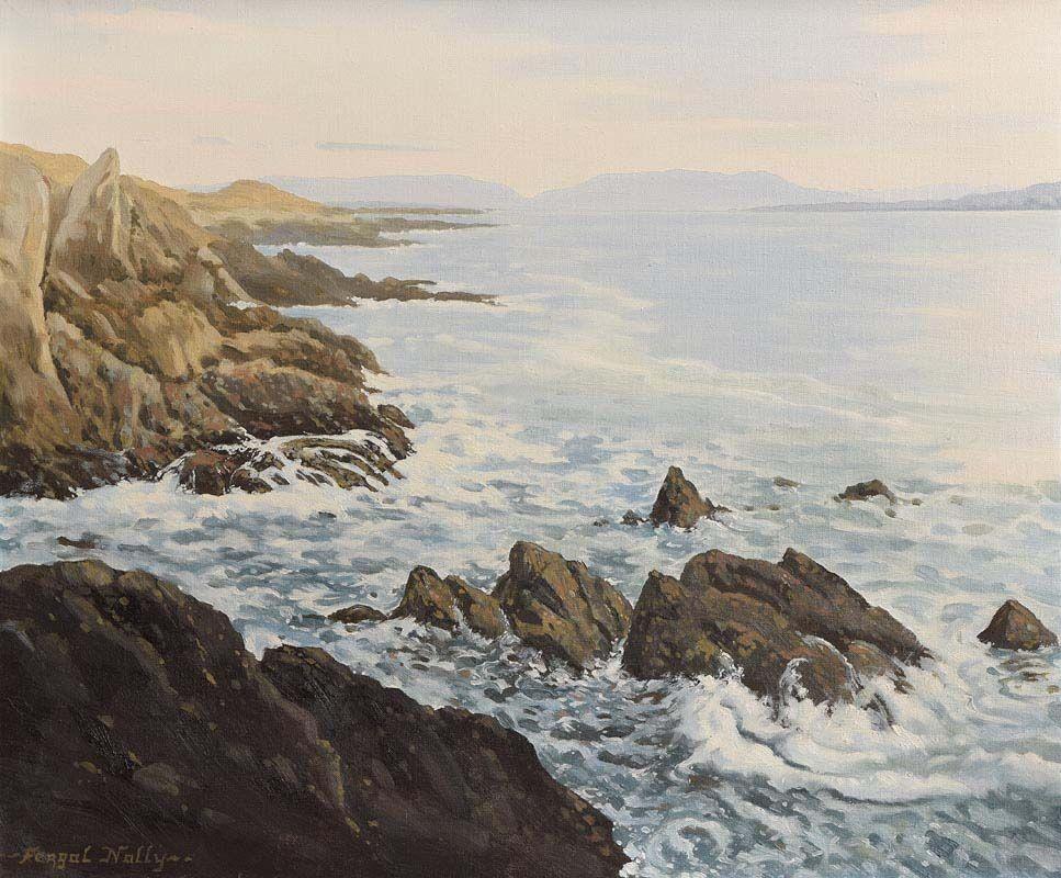 Fergal Nally, Achill Island at Morgan O'Driscoll Art Auctions