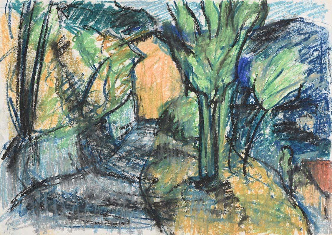 Nancy Wynne-Jones, The Road at Morgan O'Driscoll Art Auctions