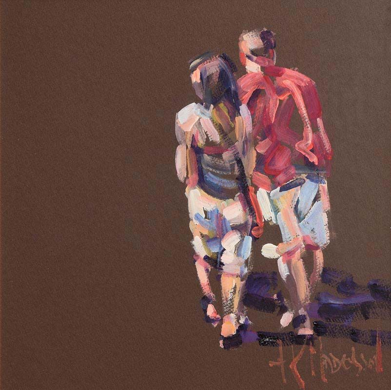 Arthur K. Maderson, Study of Two Figures at Morgan O'Driscoll Art Auctions
