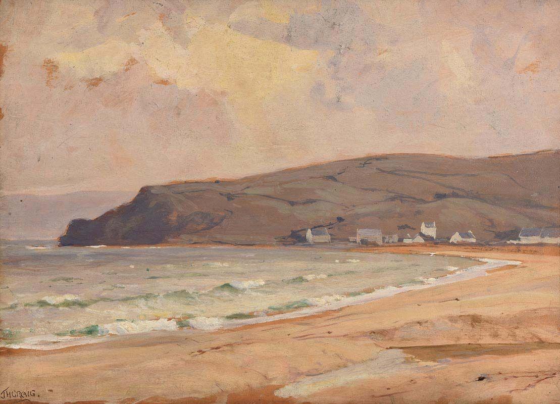 James Humbert Craig, Cushendun, Co. Antrim at Morgan O'Driscoll Art Auctions