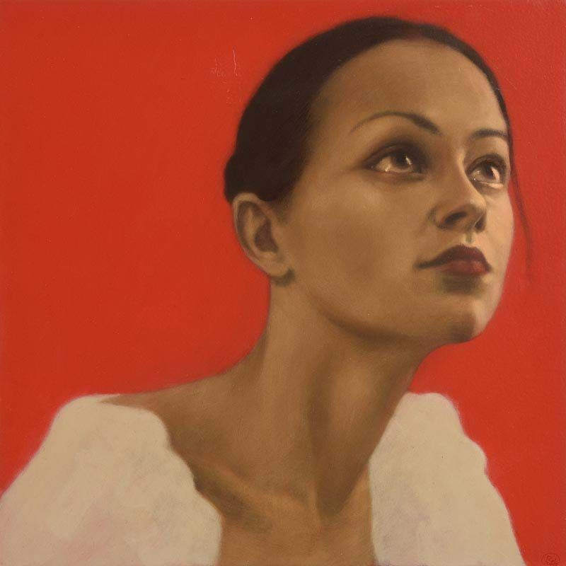 Radek Rola, Red Room Reflection (2005) at Morgan O'Driscoll Art Auctions